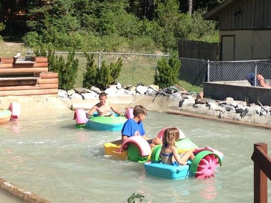 Whitefish KOA: Fun at the KOA.