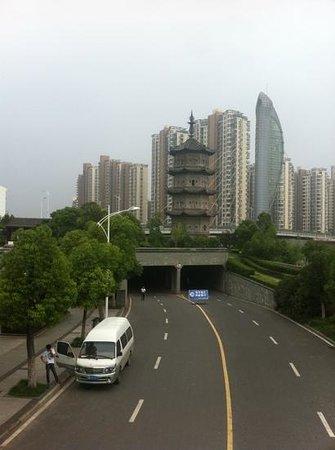 Anhui, China: wuhu centro