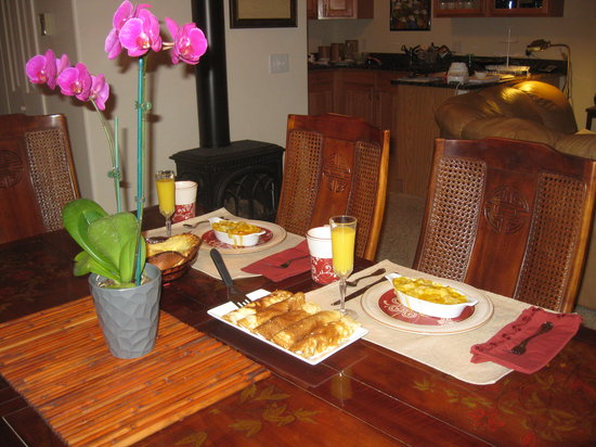 Bridal Veil Bed and Breakfast: Different Daily