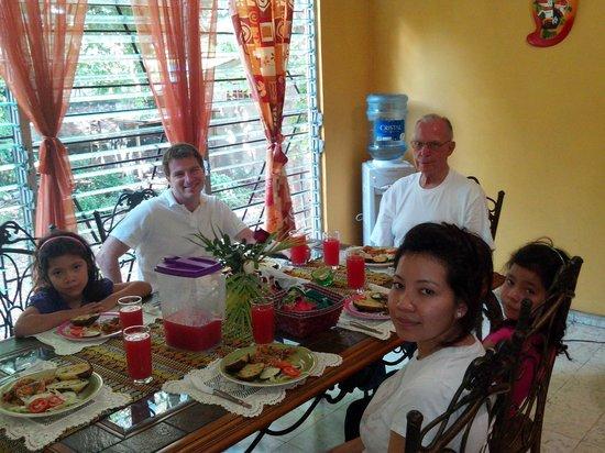 Lunch at Hostal Dona Marta