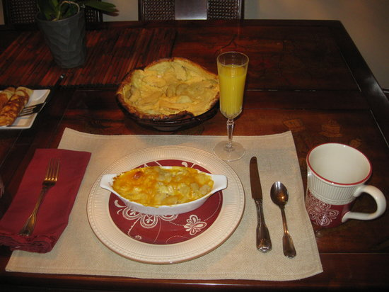 Bridal Veil Bed and Breakfast: Only Fresh Ingredients