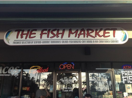 Fish Market Maui : This is the place