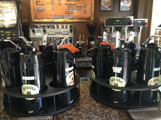 Catalina Coffee & Cookie Co.: coffees