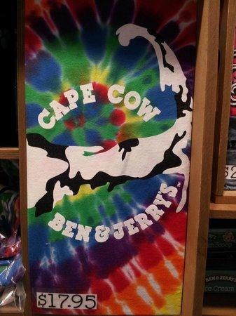 Ben & Jerry's: cool shirt