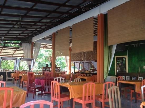 Han Rainforest Resort : eetzaal/restaurant