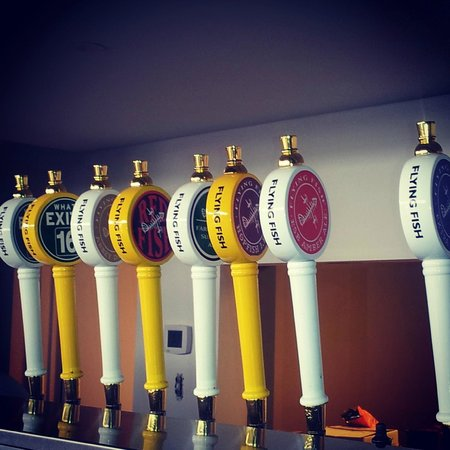 Flying Fish Brewery: Flying FIsh Taps