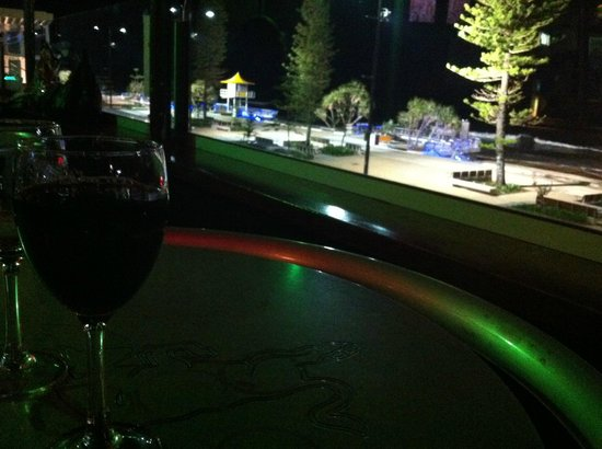 O'Malley's Surfers Paradise: view from the outdoor balcony