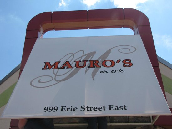 Mauro's on Erie : Creative Italian Cuisine