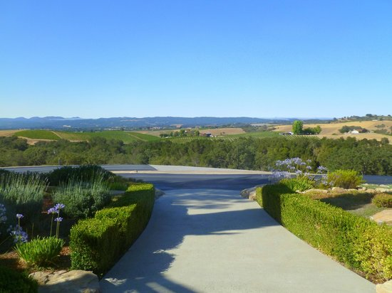 View from the front door of The Canyon Villa