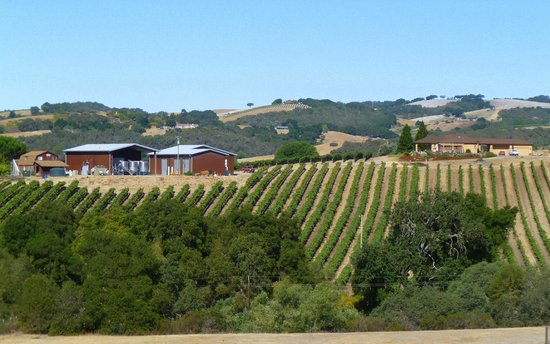 View of Ecluse Winery from the front of The Canyon Villa
