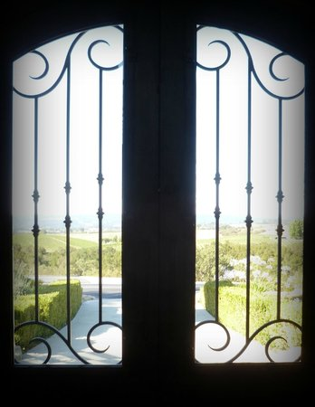 Front door of The Canyon Villa
