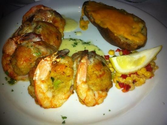 Louisiana Lagniappe : stuffed shrimp with crab. yummy!!! awesome!!