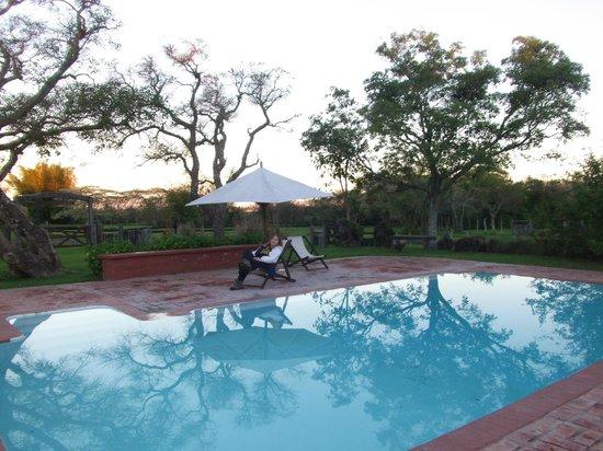 Rancho de Los Esteros: Jardín