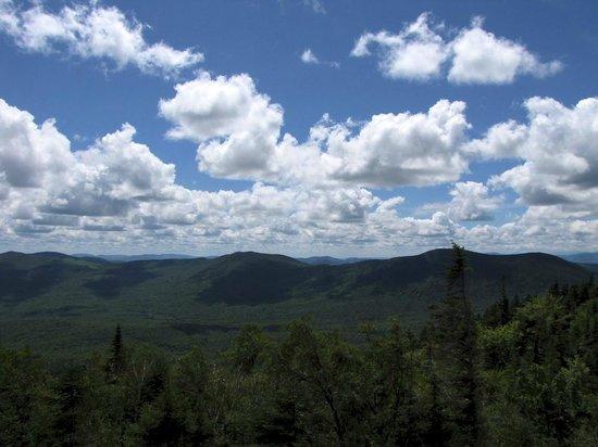 Tumbledown Mountain: view from Tumbledown Pond