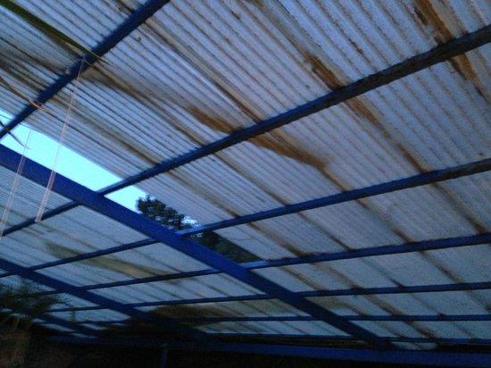 Indian Springs Resort: roof