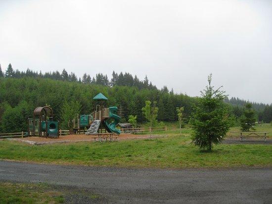 Playground stub stewart sp campground picture of l l for Stub stewart cabins