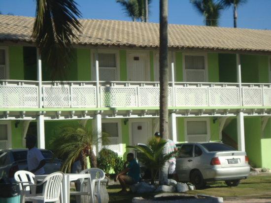Beira Mar Praia Hotel : Vista dos andares alto
