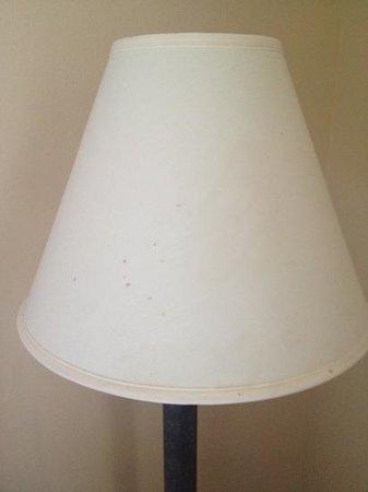 بيمونت إن آند سويتس فورت ليونارد/سانت روبرت: the lamp shade had stains all over it