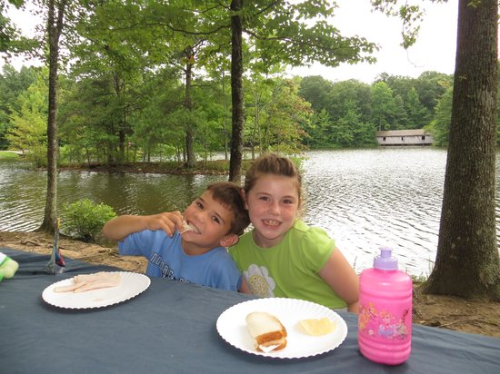 Madison County Nature Trail-Green Mountain: Picnic with a wonderful view