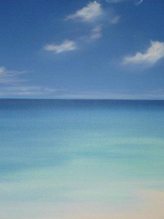 Catalonia Yucatan Beach: A look out at the beach