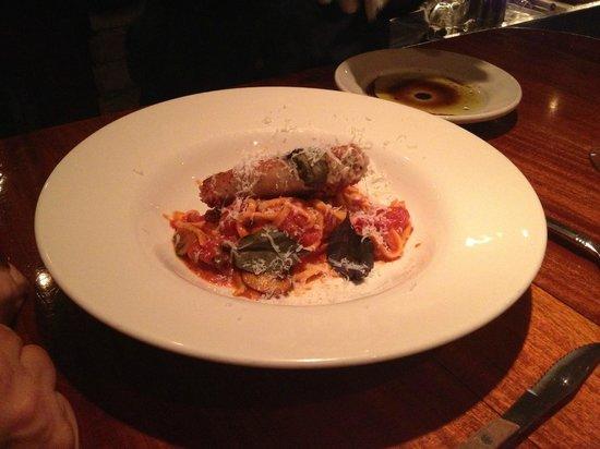 Linguini with rabbit picture of trattoria stella for Stellas fish cafe menu