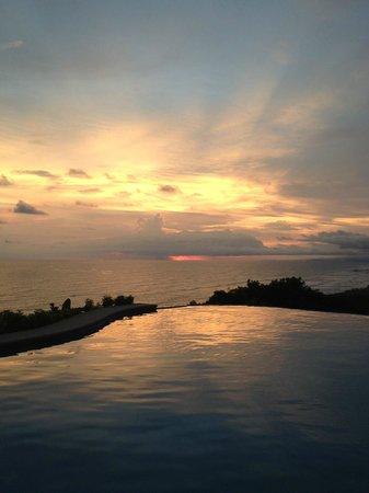 Hotel Vista de Olas: another beautiful sunset