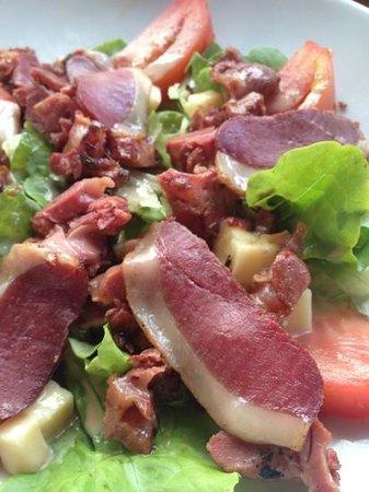 L'Aristide Café: salada com magret deliciosa!