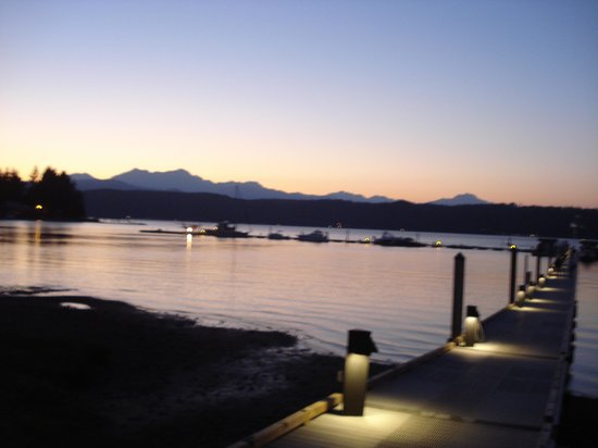 Alderbrook Resort & Spa: sunset