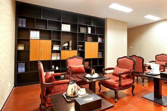 Ariva Tianjin Binhai Serviced Apartment : reading room