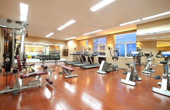 Ariva Tianjin Binhai Serviced Apartment : gymnasium