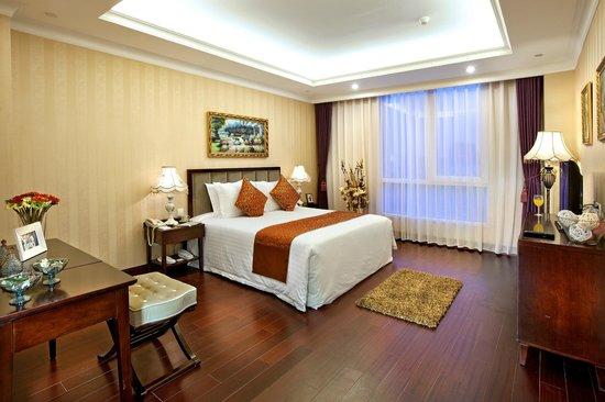 Ariva Tianjin Binhai Serviced Apartment : bedroom