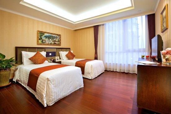 Ariva Tianjin Binhai Serviced Apartment : twin-bed room
