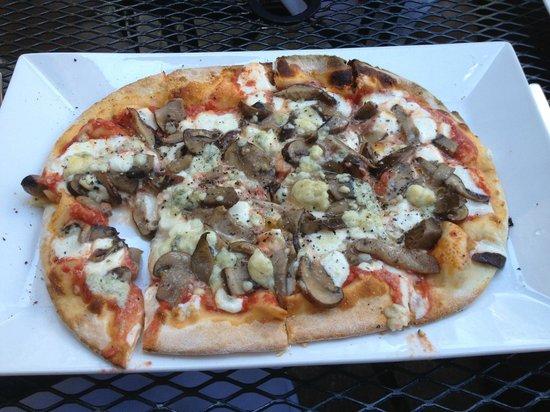 Adriatic: Mushroom Pizza