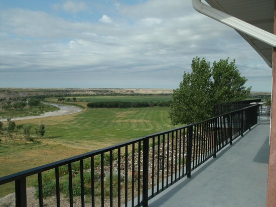 Circle View Guest Ranch: View from the balcony.