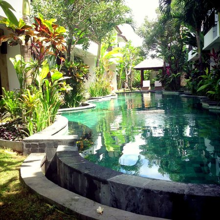 Seminyak Town House: Pool area