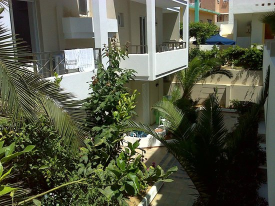 smartline Dimitrios Beach: Вид из номера 212