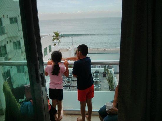 Coral Island Hotel and Spa: vista desde la habitación