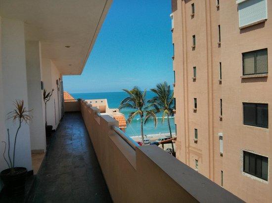 Coral Island Hotel and Spa: vista desde el 5to piso