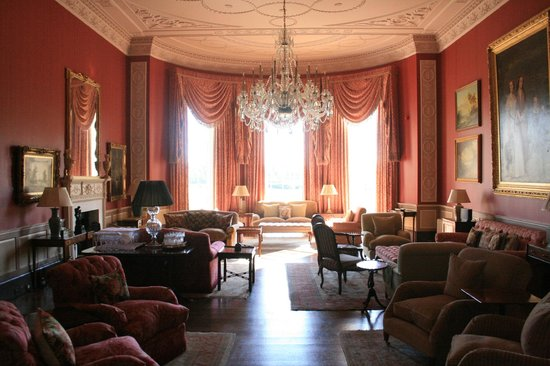 Archerfield House: living room