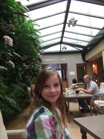 Hotel Pas de Calais: Solarium breakfast room