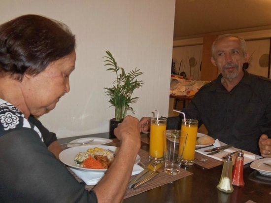 Novotel Lisboa: A comida é muito boa e relativamente em conta.