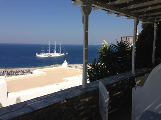 Mykonos View Hotel: dalla terrazza