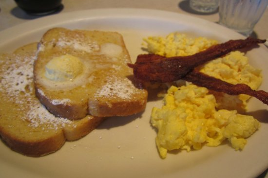 The Egg & I  St George: Vive la France- French toast