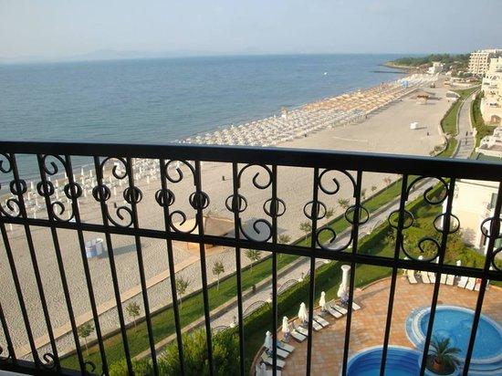 Sunset Resort: vom Balkon