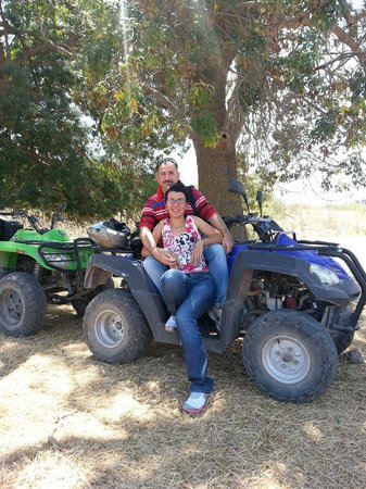 Siracusa in Quad: sosta on the road
