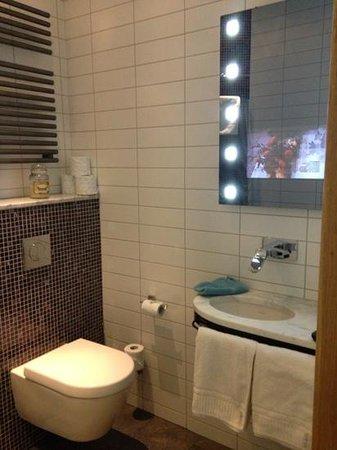 IQ Suites: Tv i spegeln!