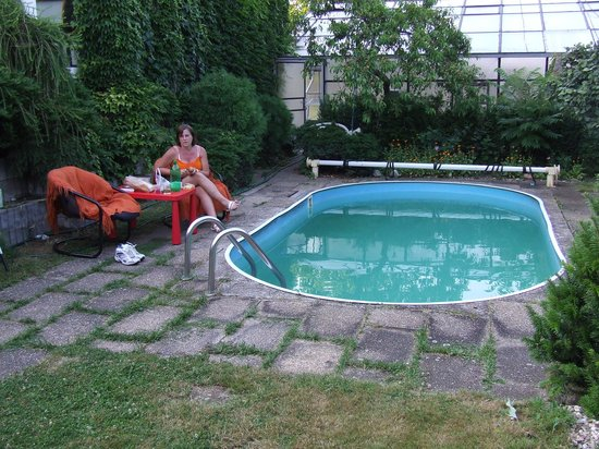 Penzion Bonsai: het zwembad