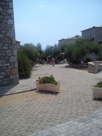 Melitsina Village Hotel : Melitsina outdoor facilities