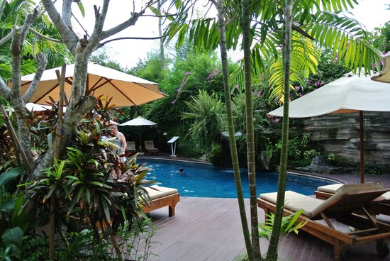 Karma Royal Jimbaran: Pool area at RBBC Jimbaran