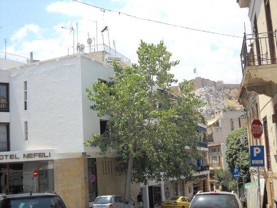 Hotel Nefeli: Il Partenone nel cielo del Nefeli